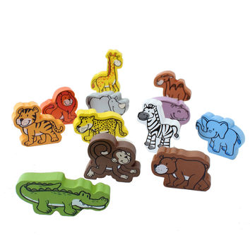 Safari Wood Blocks