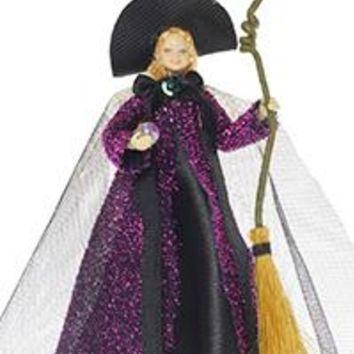 Tassie Designs Doll Sparkle Witch, Non- Magnetic