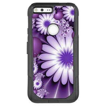 Falling in Love Abstract Flowers & Hearts Fractal OtterBox Commuter Google Pixel XL Case