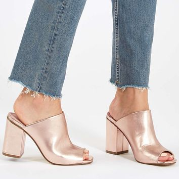 RULE Metallic Mules