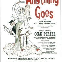 Anything Goes 11x17 Broadway Show Poster (1934)
