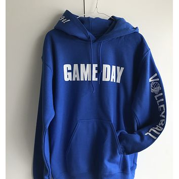 Game Day Hooded Volleyball Sweatshirt with Headband / Bracelet and Hairtie