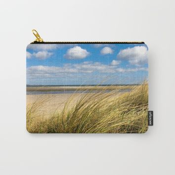 Beach whispers Carry-All Pouch by Tanja Riedel
