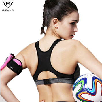 Padded Women's Yoga Push Up Sports Bra for Running, Gym, and Fitness