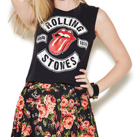 Rolling stones Crop Tank | Wet Seal
