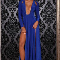 Envy Gown Blue