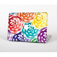 "The Colorful Spiral Eclipse Skin Set for the Apple MacBook Pro 15"" with Retina Display"