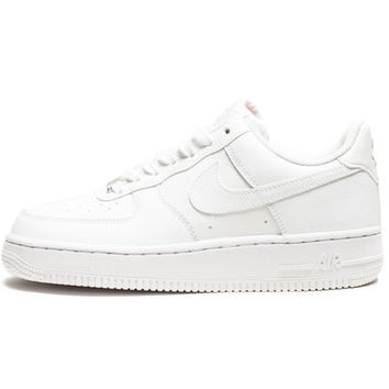 NIKE WOMEN'S AIR FORCE 1 '07 - WHITE/METALLIC SILVER | Undefeated