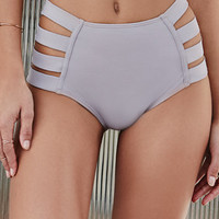 LA Hearts Strappy Side High Waisted Bikini Bottom at PacSun.com