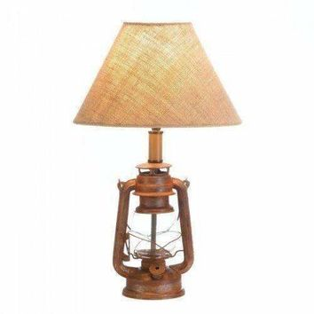 Vintage Camping Lantern Table Lamp (pack of 1 EA)