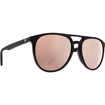 Spy - Syndicate Matte Black Sunglasses / Happy Bronze Rose Quartz Spectra Lenses
