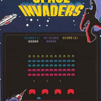 Space Invaders Arcade Video Game Poster 24x36