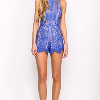 Unconditional Playsuit Cobalt
