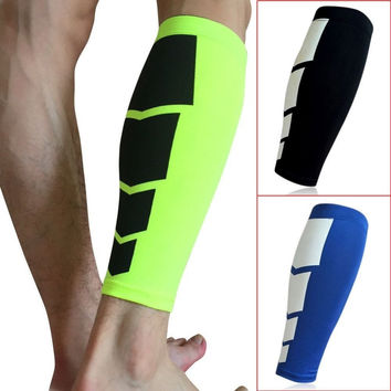 CFR 1 PC football Basketball Sport Bicycle Calf Leg Brace Support Stretch Sleeve Compression Exercise Leggings Drop Shipping