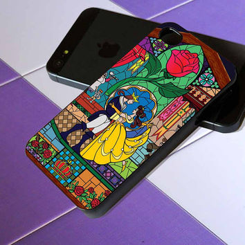 Beauty and the Beast - iPhone 4 / iPhone 4S / iPhone 5 / Samsung S2 / Samsung S3 / Samsung S4 Case Cover