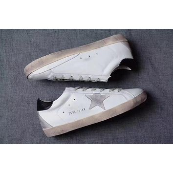 GGDB / Golden Goose Deluxe Brand Uomo / Donna Superstar Black Sneakers