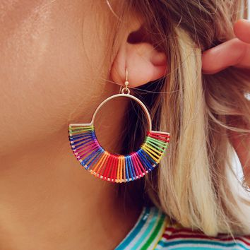 Change It All Earrings: Multi