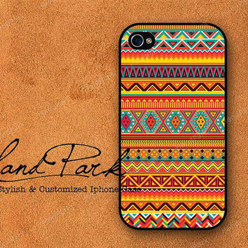 Aztec Geometric iPhone 4 Case, iPhone 4s Case, iPhone Case, iPhone Hard Case
