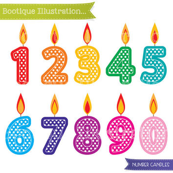 Number Candles Clipart. Birthday Clipart. Number Candles Clip Art. Birthday Clipart. Numbers Clipart. Birthday Digital. Candles Vectors