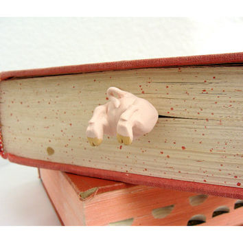 Pig Butt Bookmark - Humorous bookmarks-