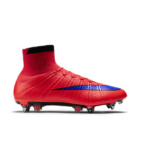 Nike Mercurial Superfly SG-PRO Men's Soft-Ground Soccer Cleat: Size 11.5 (Red)
