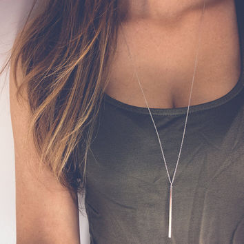 Simple Sliver Gold Plated Chain Necklace