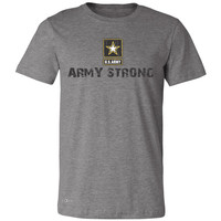 Army Strong US Army Unisex - Men's T-shirt Military Star Cool Tee