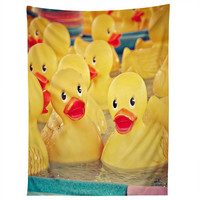 Shannon Clark Rubber Duckies Tapestry