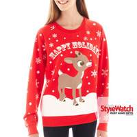 jcpenney | Reindeer Holiday Sweatshirt