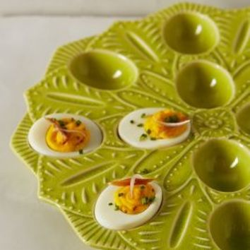 Picnic Egg Caddy by Anthropologie Lime One Size House & Home