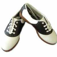 Hip Hop 50s Shop Womens Saddle Oxford Shoes 9.5