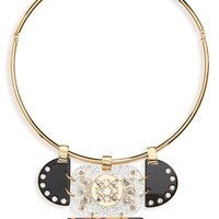 J.Crew Crystal & Lucite Collar Necklace | Nordstrom