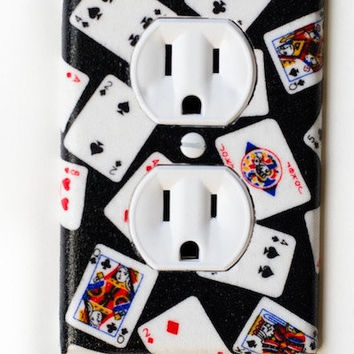 Deck of Cards Outlet Cover