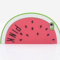 New cartoon case  Watermelon cartoon model Silicone cover case For Iphone 5 5S 5C 5G  soft rubber cover   Free Shipping  PC0158B