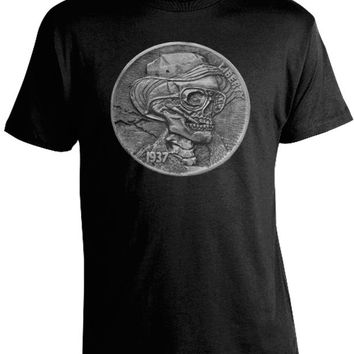 Hunter S. Thompson Hobo Nickel Shirt