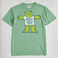 Palmercash Hugs Are The Drugs Tee- Green
