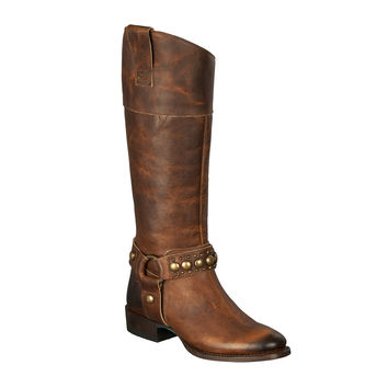 Lane Boots - Westminster Caramel Tan