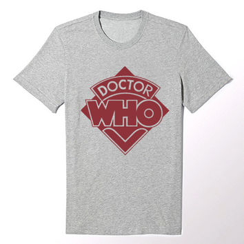 Classic Dr Who Logo T Shirt