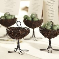Bird Nest Place Card Holder, Set of 4 | Pottery Barn