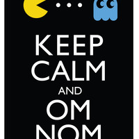 PacMan Keep Calm Cross Pattern | Los Angeles Needlework