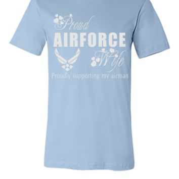 air force wife - Unisex T-shirt