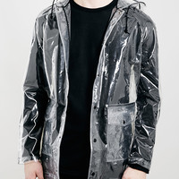 TRANSPARENT RAIN MAC - Men's Jackets & Coats - Clothing