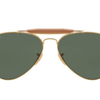 NEW SUNGLASSES RAY-BAN  OUTDOORSMAN RB3030 in Gold