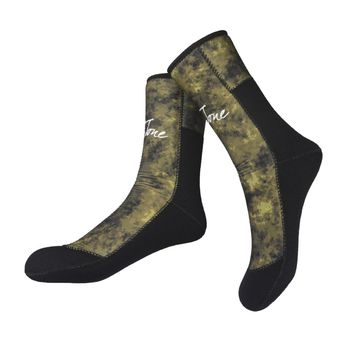 Camouflage 7mm Diving Neoprene Socks Boot Shoes Gloves Men For Spearfishing Underwater Fishing Scuba Dive Snorkeling Surfing