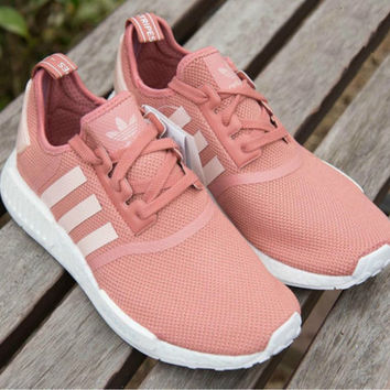 Adidas Women Fashion Trending Pink Running Sports Shoes