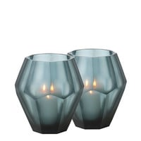 Blue Candle Holder (set of 2) | Eichholtz Okhto