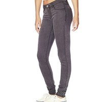 Dark Grey High Waist Jegging