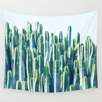 Cactus V2 #society6 #decor #fashion #tech #designerwear Wall Tapestry by 83oranges.com | Society6