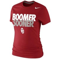 Nike Oklahoma Sooners Ladies Boomer Sooner 2013 Local T-Shirt - Crimson