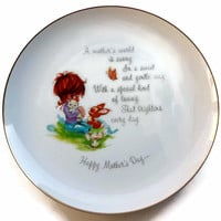 Mother's Day Commemorative Plate